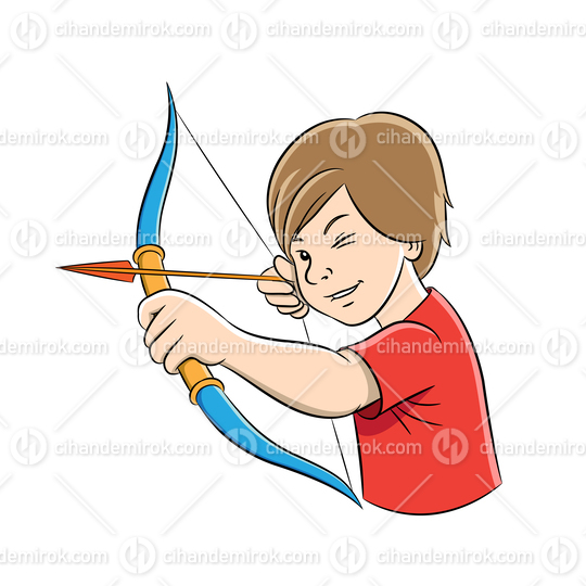 Archer Boy Cartoon