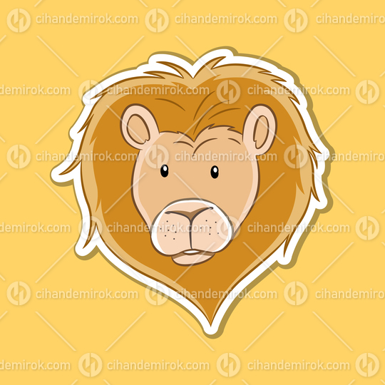 Sticker of Leo Zodiac Sign
